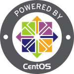 This website is powered by Cent OS.